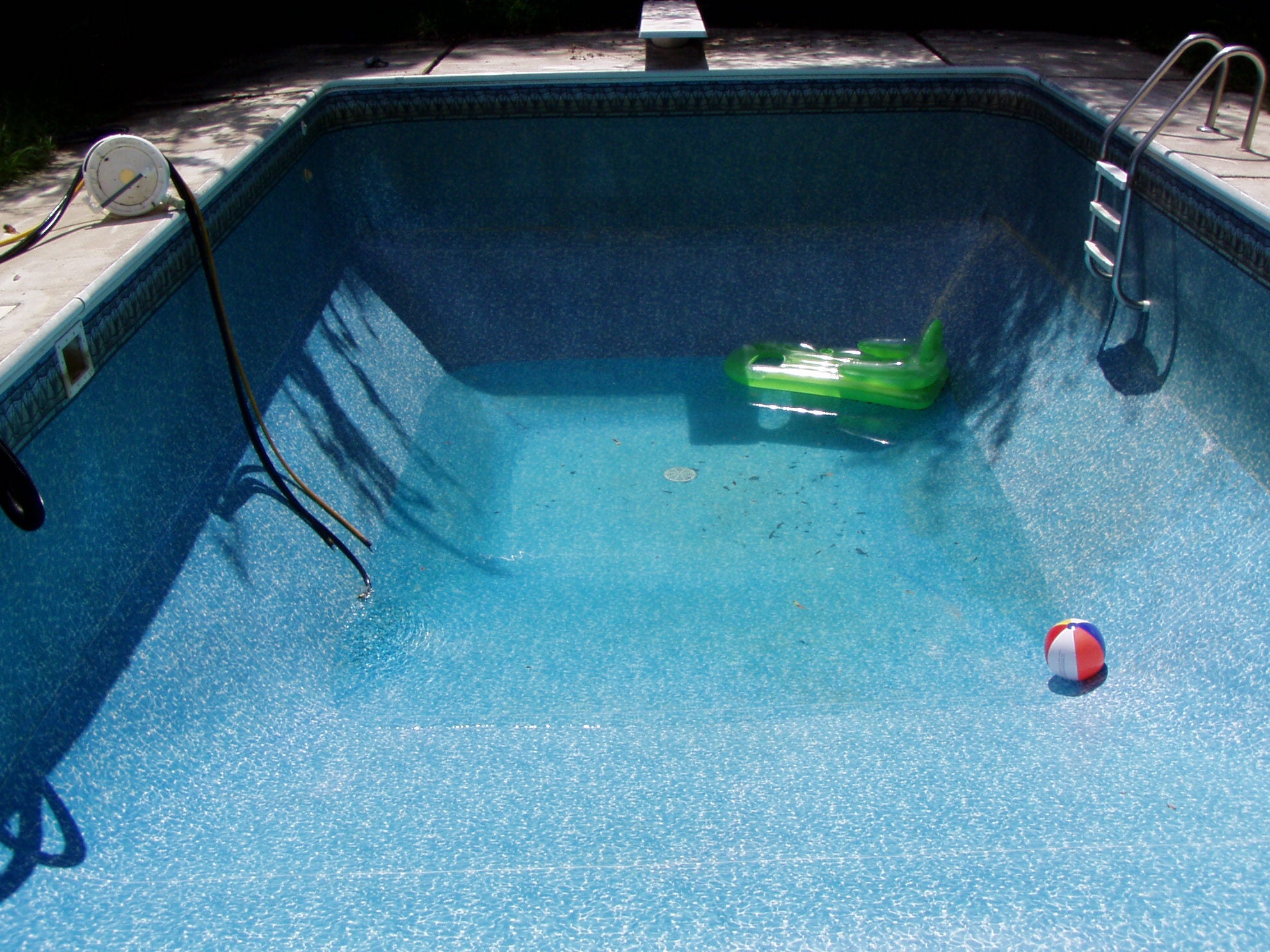 Should I Drain My Pool And Start Over?